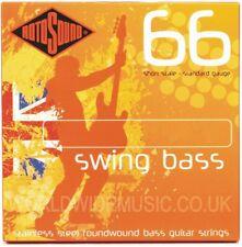Rotosound Swing Bass Bajo Guitarra Cuerdas-escala larga-con opción de 8 medidores