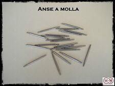 Anse cinturino orologio diam. 1.5mm: 18-20-22mm. Stainless steel spring bars