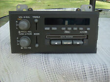 GM  FACTORY  CASSETTE  CAR  RADIO  #16194955 (UNTESTED-NO WIRING PLUG)