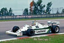 CARLOS REUTEMANN Williams FW07C WINNER GRAN PREMIO DEL BRASILE FOTOGRAFIA 1981 3