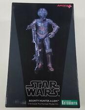 Kotobukiya ArtFX+ Star Wars BOUNTY HUNTER 4-LOM 1/10 Scale Pre Painted Model Kit