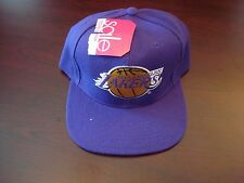 LOS ANGELES LAKERS G-CAP  SPLASH BIG LOGO SCRIPT VINTAGE 90'S HAT CAP  SNAPBACK