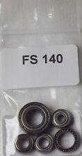 Penn 525 Mag Replacement Set of 6 Bearings abec 3 (FS 140)