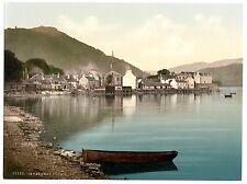 3 Visite Vittoriani Inveraray Castle & Ponte Argyll Scozia Vecchie Foto Poster