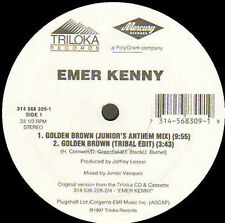 EMER KENNY - Golden brown (Junior vasquez rmxs) - Triloka - 314 568 309-1 Usa