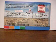Biglietto concerto Ligabue 21-12-2007 forum Assago