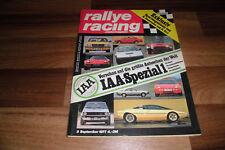 RALLYE RACING 9 / 1977 -- IAA Spezial-Sportwagentest von: ROLF STOMMELEN+H. ERTL