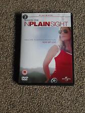 IN PLAIN SIGHT -  SEASON ONE ( 1 ) - 3 DISC DVD BOXSET In VGC (FREE UK P&P)