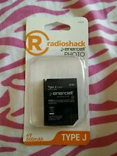 Type J Camera replacement battery 6V 500mAh RadioShack Enercell Photo 2302091 !