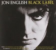 JON ENGLISH Black Label 5CD/DVD NEW Paris/Against The Wind/Six Ribbons/Live Rare