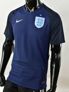 THREE LIONS NIKE ENGLAND 3RD Away Shirt 2017 Football Jersey SIZE XL (adults)