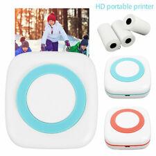 Mini tragbar Thermodrucker für Smartphone Handy Fotodrucker Rechnung USB DE