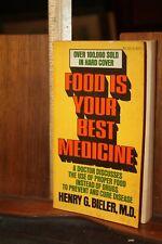 Food is Your Best Medicine Henry G. Bieler M.D. Paperback