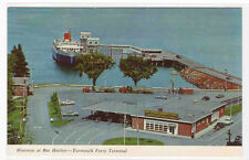 Bluenose Ferry Ship Bar Harbor Maine Terminal postcard