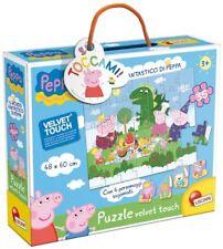 Peppa Pig Puzzle 35 pz mondo Fantastico Velvet Touch Lisciani Giochi 43385