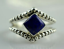 Lapis Lazuli Ring 925 Solid Sterling Silver Handmade Jewelry Size F to Z 1/2 UK