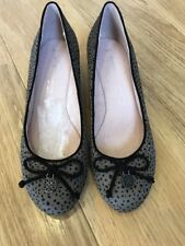 Next Ladies Leopard Effect Wedge Shoes Sz 4 / 37 BNWT