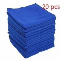 20pcs 30cm Large Microfibre Cleaning Auto Car Detailing Soft Cloths Wash Towel