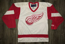 Detroit Red Wings White BLANK CCM Medium Jersey NHL