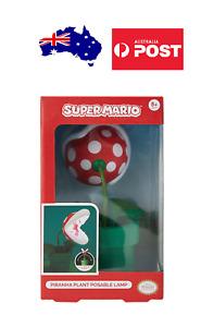 Nintendo - Super Mario - Piranha Plant Posable Desk Lamp - Light - BRAND NEW