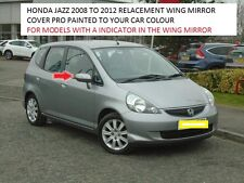 HONDA JAZZ WING DOOR  MIRROR COVER  2008-2012 LEFT LHS PAINTED ANY HONDA COLOUR