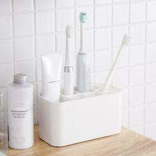 Bath Wall Mounted Electric Toothbrush Holder Toothpaste Caddy Stand Organizer