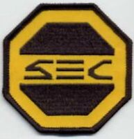 SAAB  ~~  Space: Above & Beyond SEC Security Embroidered Iron-on Patch