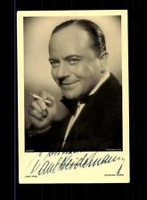 Paul Heidemann Ross Autogrammkarte Original Signiert # BC 70800