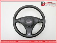 AUDI A6 AVANT (4B, C5) 2.5 TDI Lederlenkrad Sport mit Airbag 0T171041 ORIGINAL