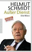 Außer Dienst: Eine Bilanz von Schmidt, Helmut | Buch | Zustand gut