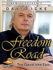 David Icke: Freedom Road Dvd Documentary