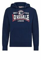 Lonsdale Ryde Men Hooded Sweatshirt Hoody navy blau Hoody