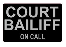 Court Bailiff On Call Dashcard Money Owing Debt Cant pay we'll take it away SIA