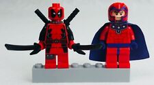 LEGO Super Heroes 6866 Minifigure Wolverine Chopper Showdown Deadpool & Magneto