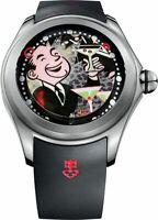 390.101.04/0371 PO01 | New Corum Big Bubble Magical Pop De La Nuez Men's Watch