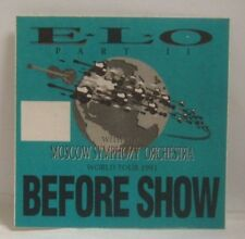 E.L.O. / ELO  - ORIGINAL CLOTH CONCERT TOUR BACKSTAGE PASS
