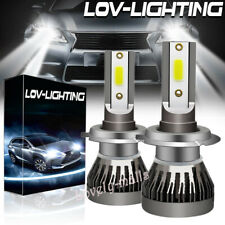 H7 for MINI LED Headlight Conversion Kit 110W 20000LM Light Bulbs 6000K White