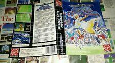 Jaquette seule/COVER ONLY NO GAME. PAS DE JEU.EUROPEAN CLUB SOCCER MEGADRIVE PAL