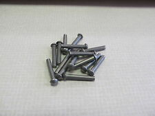 3/32  X 3/4  Steel Round Head Solid Rivet - (100 pcs) UK made.