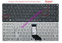 New Acer V5-591G V5-591G-55UY V5-591G-58ZR V5-591G-57LK US Keyboard non-backlit
