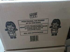Mighty Jaxx Picky Eaters THE MAIDEN WENDYS Vinyl Figure BY PO YUN WANG on hand
