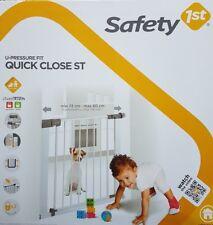 Safety Baby Tür/Treppenschutzgitter 2 Richtungen zum Öffnen 73 - 136 cm