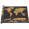Scratch Map Scratch Off World Travel Map Poster Copper Foil Journal Log Cylinder
