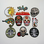 Embroidered Sew On / Iron On Patch Badge Bags Hat Jeans Shirt Applique Craft DIY