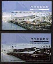 Hong Kong 2013 Mnh de Kai Tak terminal de cruceros minisheets