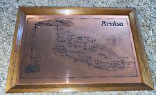 Etchmaster Original Alresford,Hampshire England Copper Etching Aruba