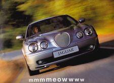 2002 JAGUAR S-TYPE Australian 8p Large Format Brochure Folder 3.0 V6 4.2 V8 & R