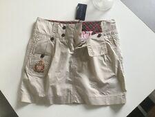 Belle Mini jupe coton beige RALPH LAUREN T.25 ou 36 neuve avec étiquette!
