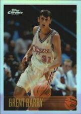 1996-97 Topps Chrome Refractors Basketball Card #60 Brent Barry