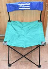 Green Shakespeare Folding Seat in Blue Carrying Case